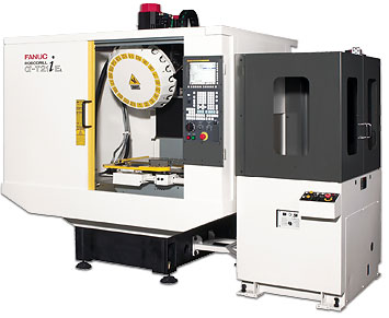 Fanuc Robodrill ALPH-T21iEL high speed vertical machining center
